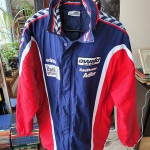 Vintage erima german automotive jacket